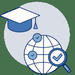 graduate education icon